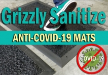 Grizzly Sanitize Mats