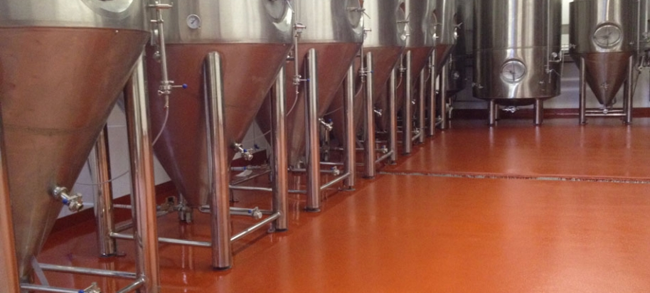 Parallel 49 brewing company commercial flooring mats for 100 floors floor 49