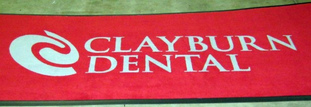 Clayburn Dental: Custom Logo Area Rug
