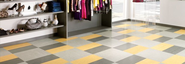 VCT (Vinyl Composition Tiles) – The Standard For Low Budget, High Traffic Commercial Spaces
