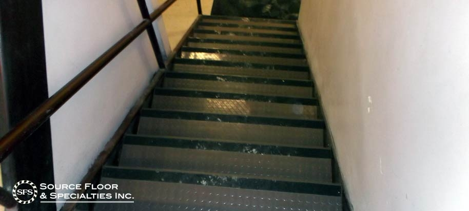 English Bay Batter Stair Treads Commercial Flooring