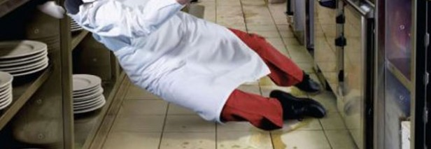 Why Floor Safety Needs to be a Priority For Your Commercial Kitchen