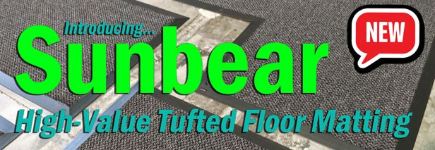 New! Sunbear high-value floor matting!