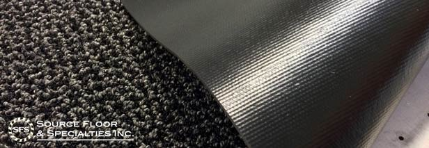 backings vinyl matting