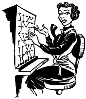 Best Telephone Operator Vintage Illustrations, Royalty ...